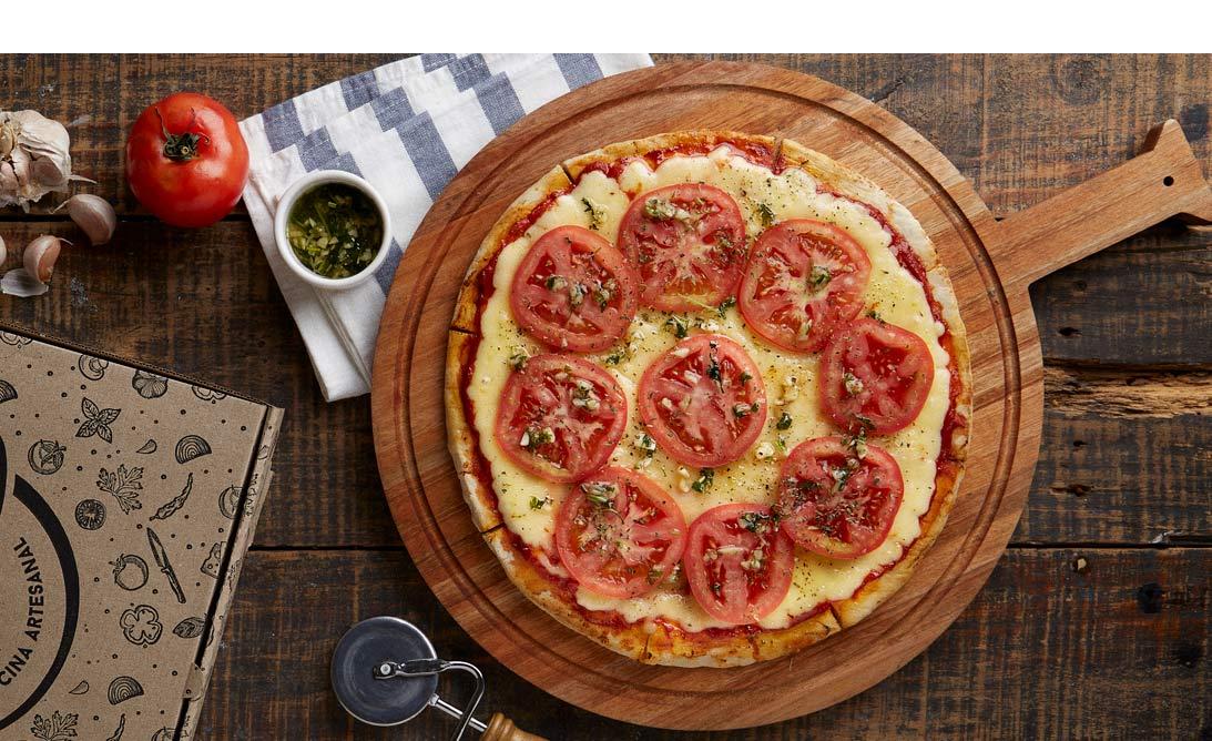 Pizza. Fotografias para Tomasso Pizzas - Campaña publicitaria con food styling by okd Estudio